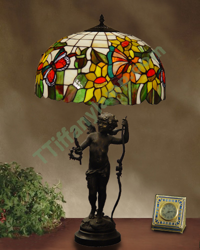 butterfly tiffany style lamp sculpture lamps tiffany lamps china