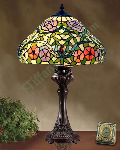 item t16084 - Tiffany Table Lamps