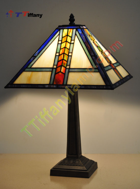 Mission style table lamp mc13 29 1 mission table lamps tiffany brand new exquisite gorgeous tiffany style lamp is a uniquehandcrafted work of art nouveau variation in the glass using genuine hand rolled art stained aloadofball Images