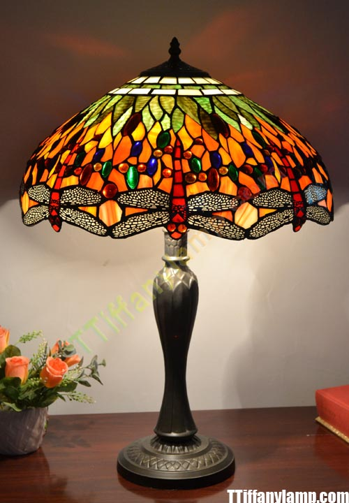 regard lamps reports dragonfly lamp shining dragon on table mosaic a with base fee light to tiffany fly style
