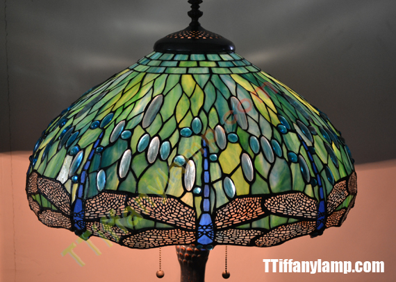 Description: Dragonfly Tiffany Lamp,Select The Superior Glass, Exquisite  Work, This Is Ttiffany Design, All From The Fine Quality Of A Material Is  Out And ...