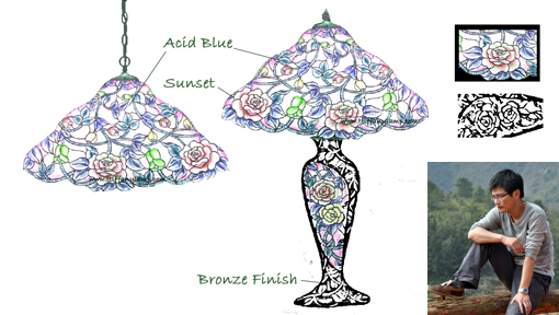 Tiffany New Designs - Tiffany Lamps China, Tiffany lighting ...